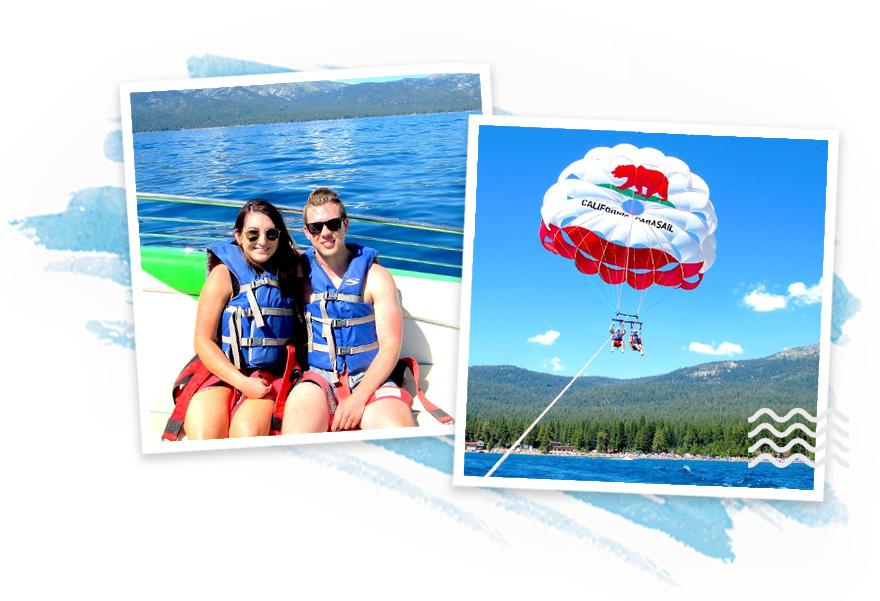 Lake Tahoe Parasailing